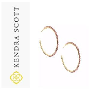 Kendra Scott Hoop Earrings